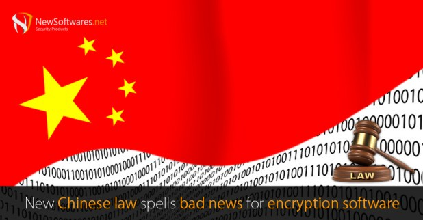 Chinese law for encryption software