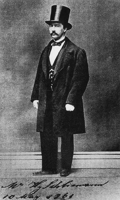 schliemann 1861