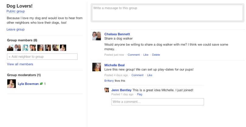 Get ther: Create a Nextdoor Group   Nextdoor Blog on