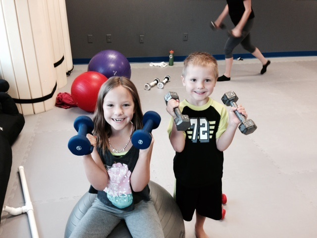 Young fans of the community fitness class. Photo courtesy of KSHB Kansas City.