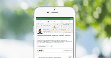 Nextdoor agent business profile