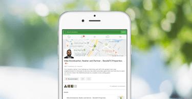 Nextdoor agent business profile