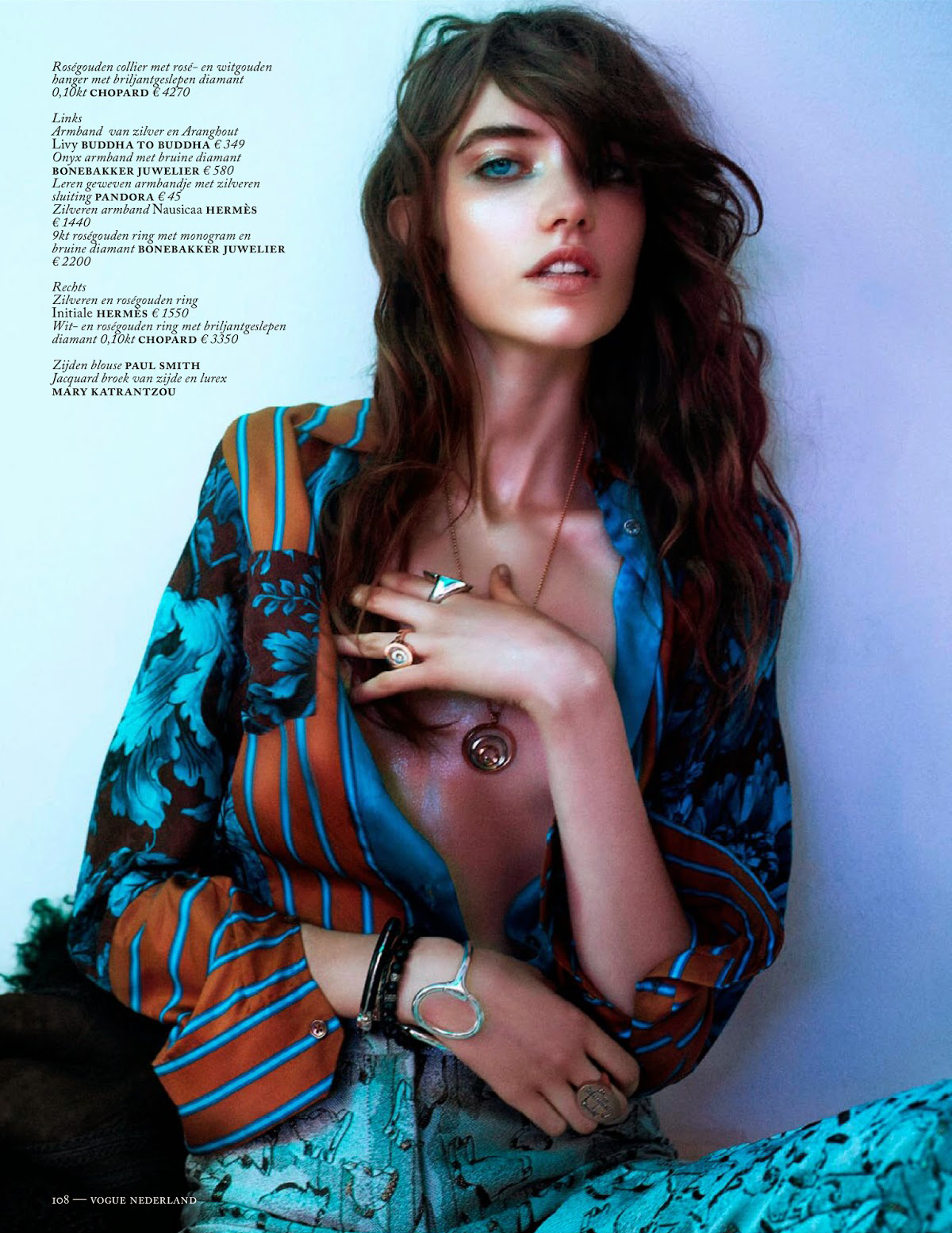 Boe Marion for Vogue Netherlands March 2014