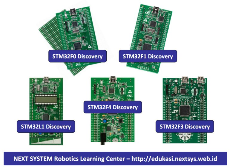 STM32 Discovery Board - NEXT SYSTEM Robotics Learning Center