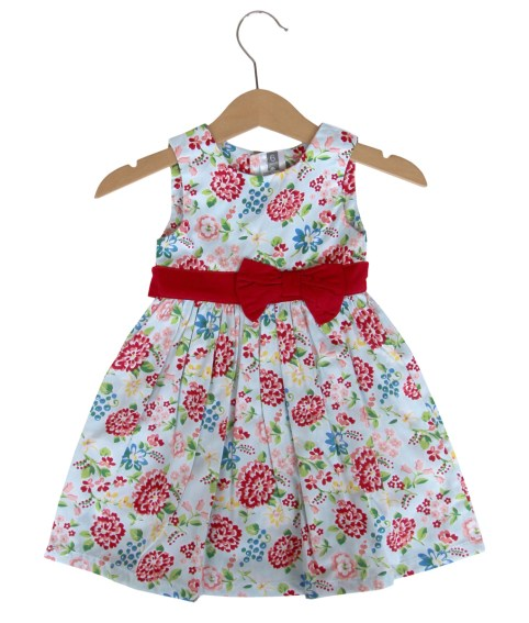 Floral Bow Dress by Kicau Kecil [sumber]