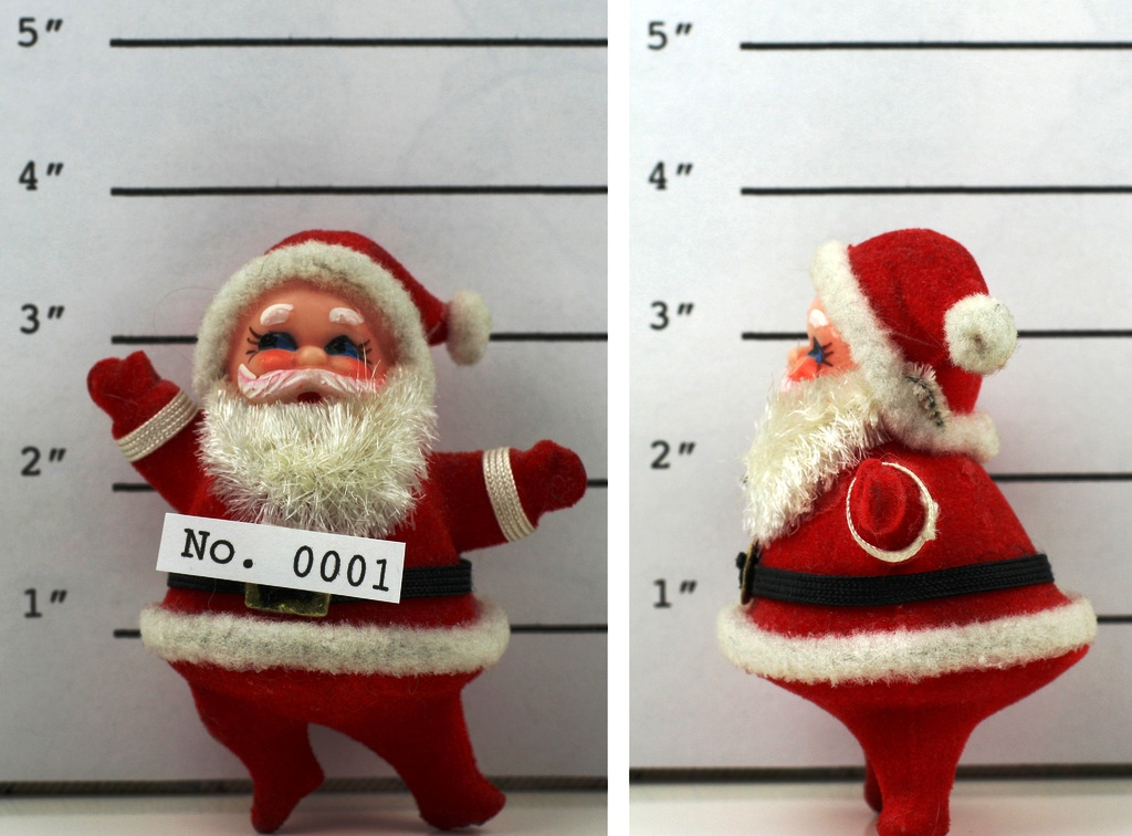 Santa figures in jail