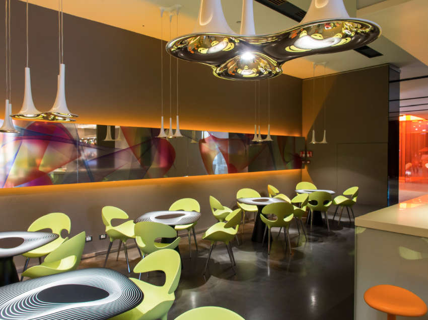 NH Hotels Blog  In with the new Karim Rashid redesigns nhow Milano bar