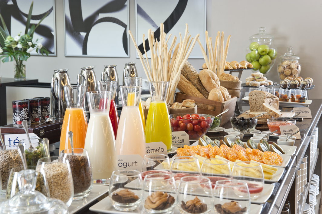 NH Hotels experience_Breakfast buffet