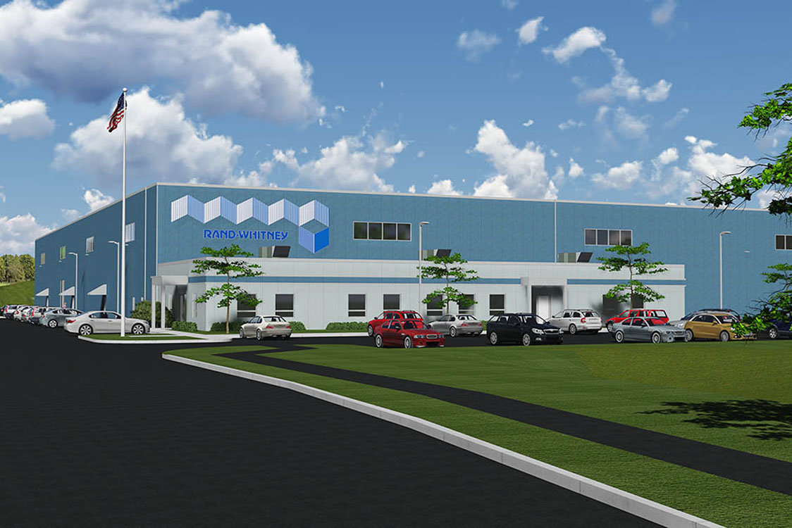 Container Excitement RandWhitney Breaks Ground for New