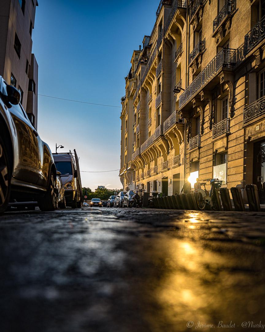Reflets - Un peu de brillant et de jaune sur les pavés ce soir, il ne faut pas toujours un ciel nuageux pour avoir un puddle de soleil ;).----A little shine and yellow on the cobblestones tonight, you don't always need a cloudy sky to have a sun puddle;)..With lens: NIKKOR Z 24-70mm f/2.8 S at 24 mmExposure: ¹⁄₃₂₀ s à ƒ / 2,8Camera: 24 mm - NIKON Z 7.... #4twitter #hello_france #hello_paris #ig_paris #igersparis #iloveparis #montmartre #Paris #paris_focus_on #pariscartepostale #pariscityvision #parismaville #pavé #Street #streetphoto #sunset #nikon #nikonfr #nikonz7 #z7 - from Instagram
