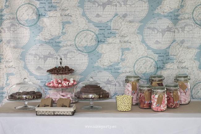 Nice Party mesa de dulces boda viajes