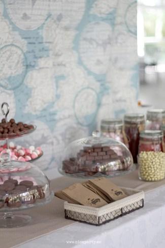 Nice Party mesa de dulces viajes
