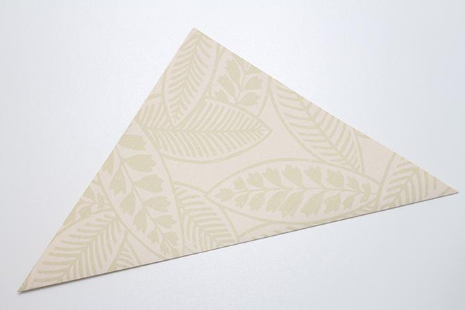 DIY caja de papel plegado para regalo