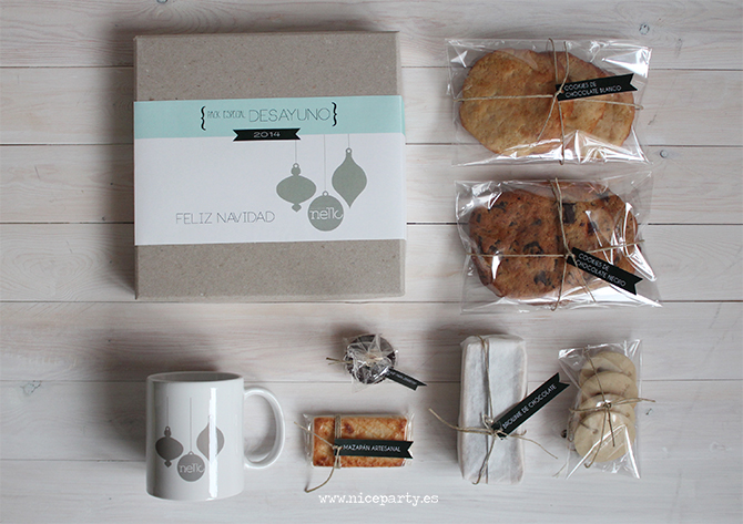 niceparty caja desayuno regalo empresa