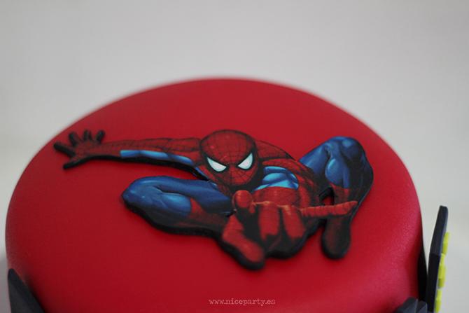 Nice Party Tarta Spiderman (1)