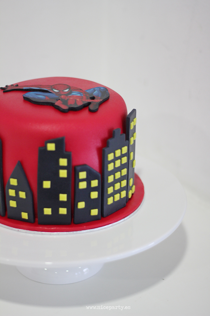 Nice Party Tarta Spiderman (2)
