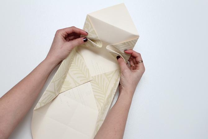 DIY niceparty tutorial caja de papel plegado (5)