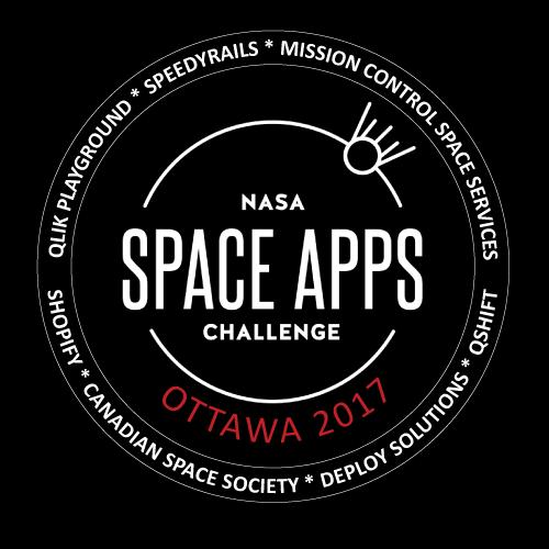 Space Apps Ottawa 2017 Logo