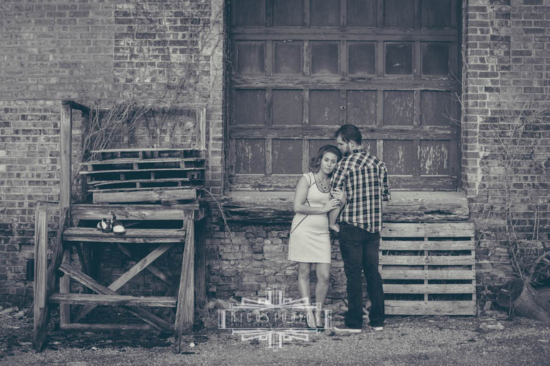 Downtown South Bend Engagement