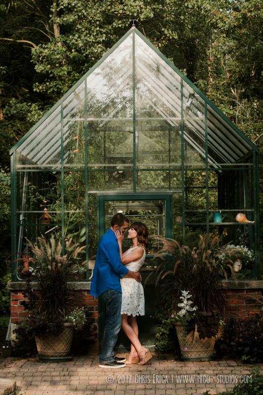 Goshen Garden Engagement