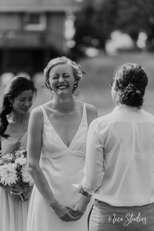 Lakeville Backyard Wedding