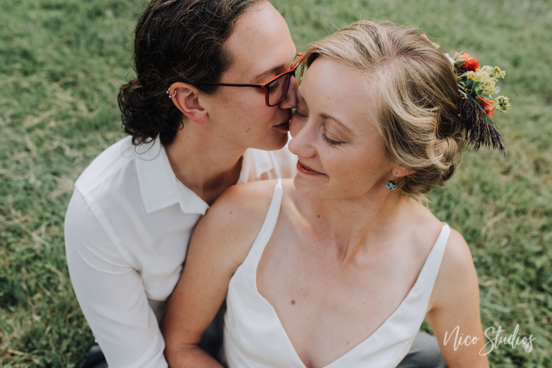 same sex south bend wedding