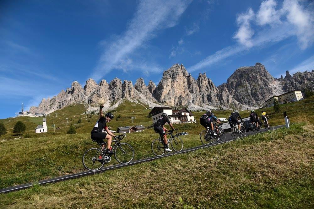 val gardena dolomite vélo haute route