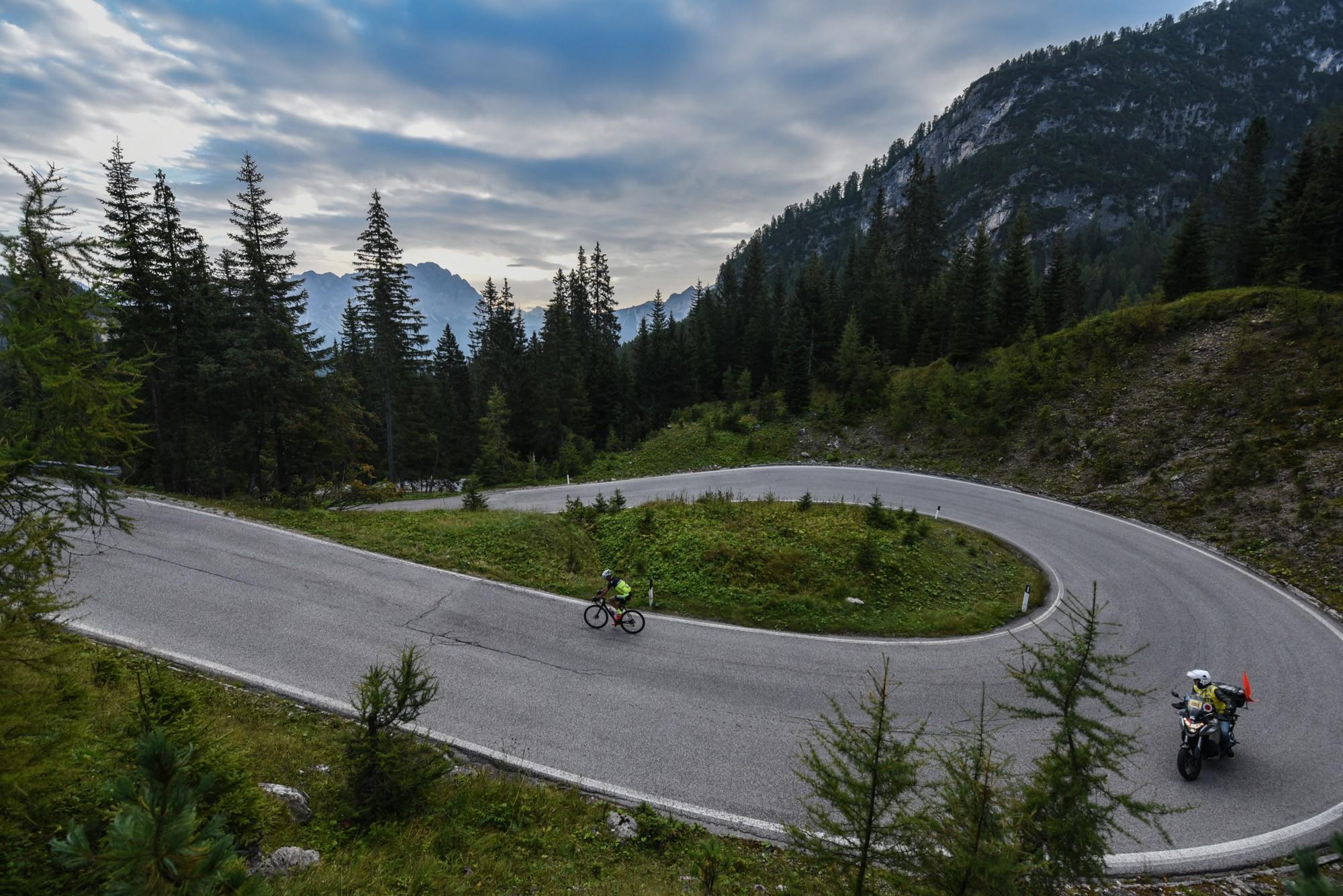 route du passo di giau haute route italie