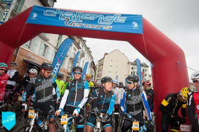 Départ du Challenge Vercors Grand Trophée France