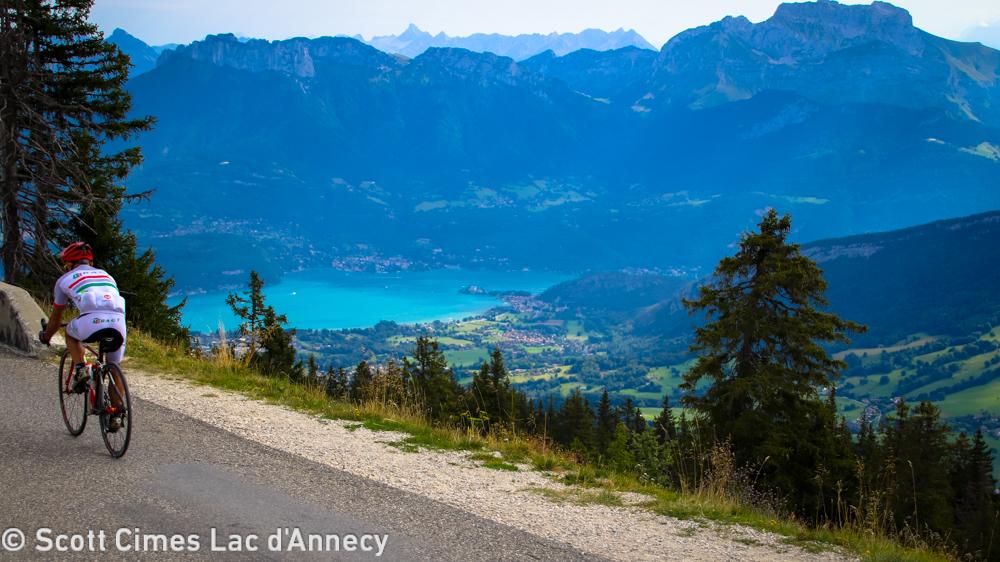 scott cimes du lac d'annecy cyclosportive challenge cyclotour