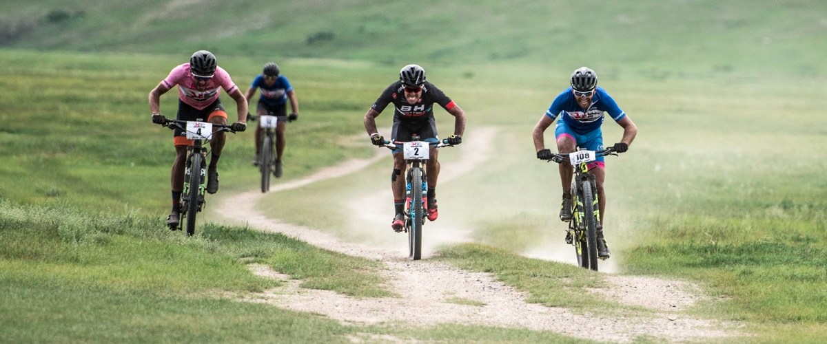Mongolia Bike Challenge Sprint Nomad steppe