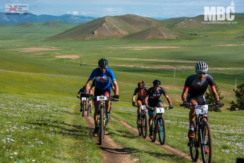 Stage 2 Mongolia Bike Challenge 2018 Leader