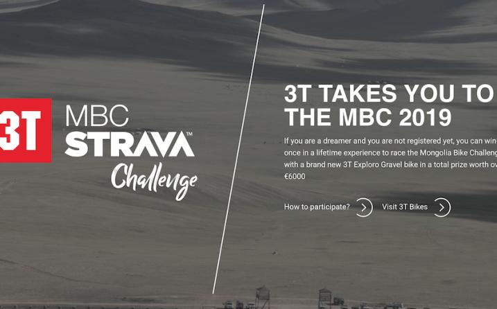 concours mongolia bike challenge 2019 3T Strava