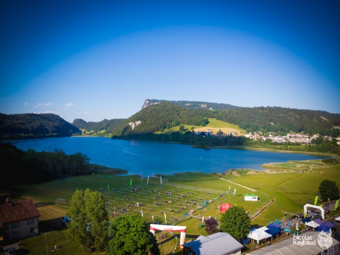 lac de brenet de la vallée de joux xterra switzerland
