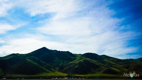 Montagne qui entoure Karakorum
