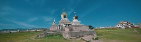 temple erdene uzu à karakorum en mongolie