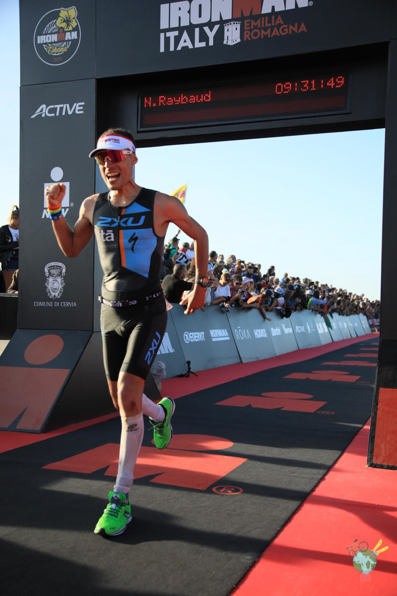 nicolas raybaud finisher de ironman italy