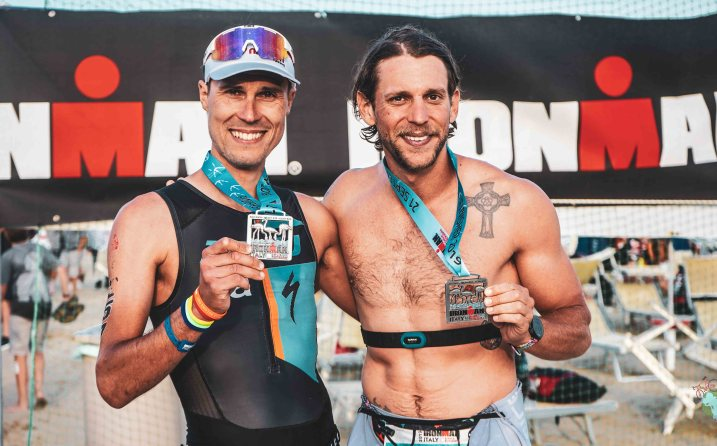 Nicolas Raybaud Finisher de l'ironman italy