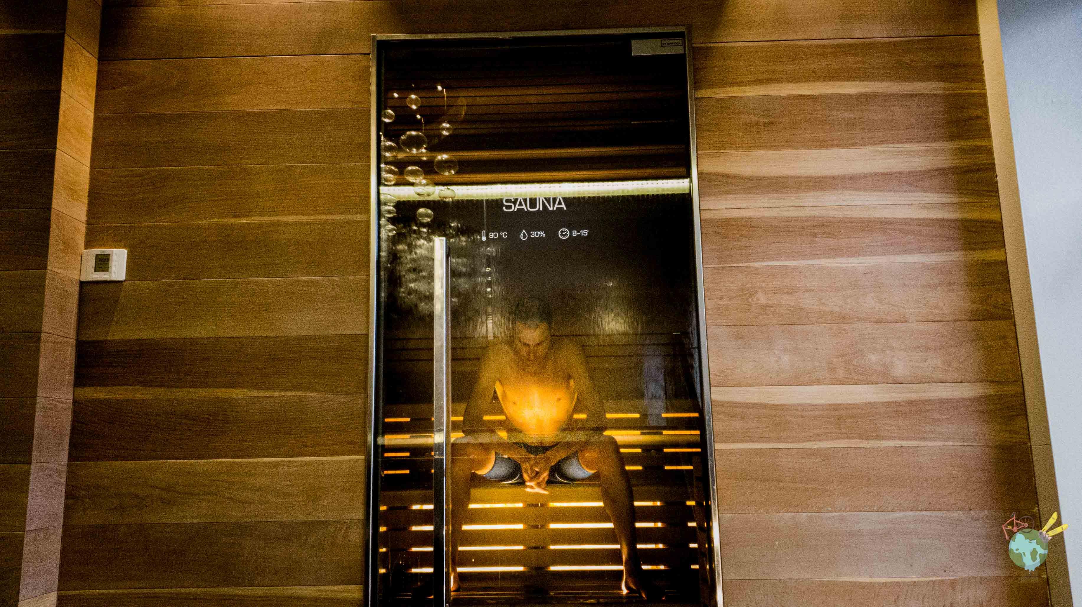 Sauna Spa du Lungomare Bike Hotel