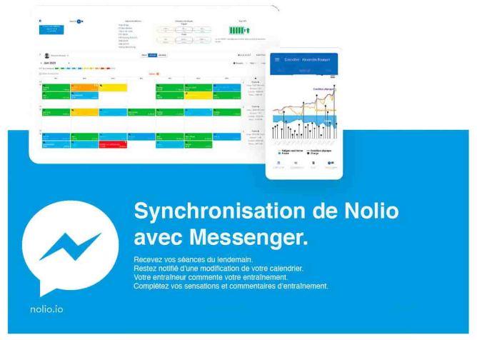 synchronisation nolio et messenger
