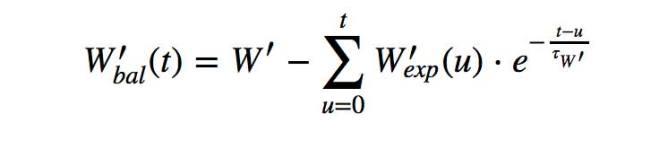 algorithme de calcul w prime balance