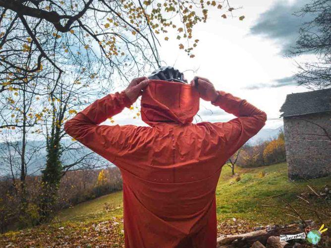 veste coupe vent à capuche vtt specialized