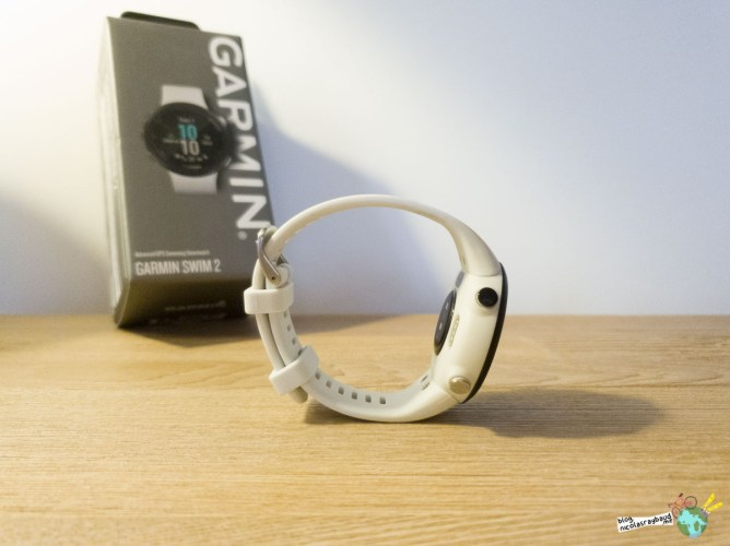 bracelet de montre natation garmin swim 2