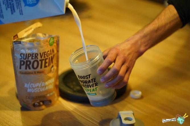 shaker vegan protein iswari