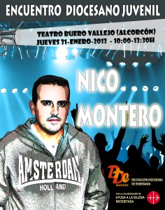 Cartel Concierto Nico Montero