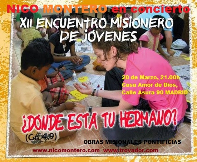 Nico en Jornadas misioneras
