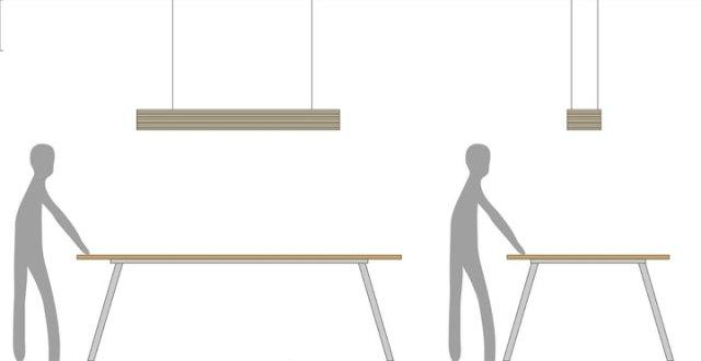 工作桌吊燈設計