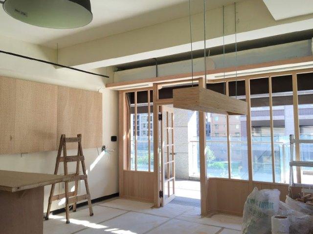 工作桌木作吊燈