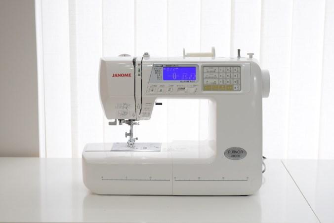 Janome A8000縫紉機外觀
