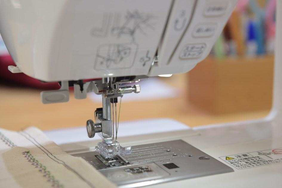 Janome A8000縫紉機-雙針縫